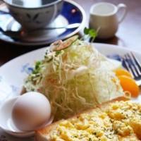 卵とトースト