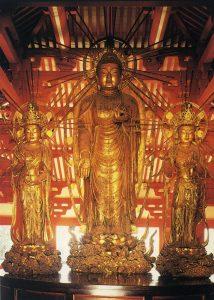 浄土寺・阿弥陀三尊立像