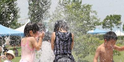 ひまわりの丘公園 親水施設